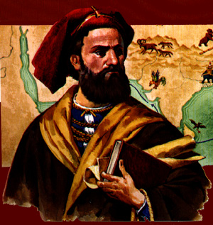 Marco Polo portret